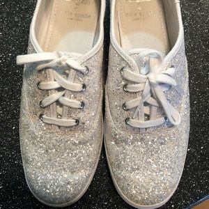 Kate Spade Sparkly Keds Sneakers